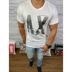 Camiseta Armani - Branca - Shopgrife