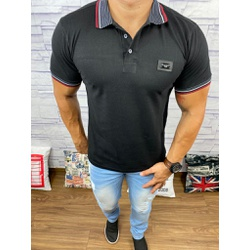 Polo Dolce Gabbana Preto⭐ - PDG01 - Out in Store