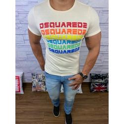 Camiseta Dsquared2 Creme⭐ - CDS8 - Queiroz Distribuidora Multimarcas