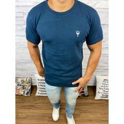 Camiseta Osk - Malhão Azul Marinho⭐ - Shopgrife