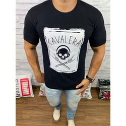 Camiseta Cavalera Preto - Shopgrife