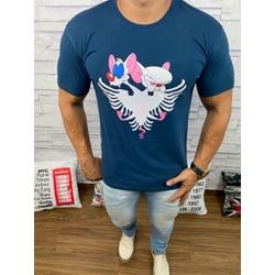 Camiseta Cavalera Azul - Shopgrife
