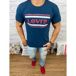 Camisetas Levi's Azul Marinho⭐ - CLES15 - Queiroz Distribuidora Multimarcas