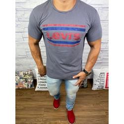 Camisetas Levi's Cinza - CLES16 - Queiroz Distribuidora Multimarcas