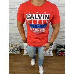 Camiseta Ck Vermelho⭐ - Shopgrife