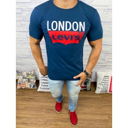 Camisetas Levi's Azul marinho - CLES19 - Queiroz Distribuidora Multimarcas