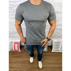 Camiseta Tommy Hilfiger Cinza - CITH115 - Queiroz Distribuidora Multimarcas
