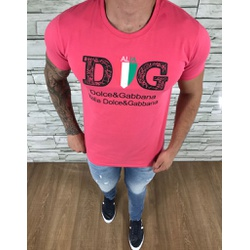 Camiseta Dolce G Rosa - CDG103 - Out in Store