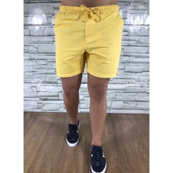 Bermuda Sarja Lct Amarelo - BSLCT15 - Out in Store