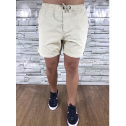 Bermuda Sarja Lct Bege Claro - BSLCT18 - Out in Store