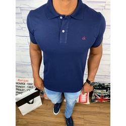 Polo Calvin Klein Azul Marinho⭐ - Shopgrife