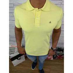 Polo Calvin Klein - Amarela Claro ⭐ - Shopgrife