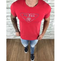 Camiseta Prada Vermelho - CAPRD27 - Out in Store