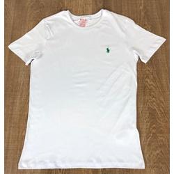 Camiseta RL Branco Logo Verde - CRL54 - Out in Store