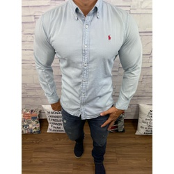 Camisa Social Jeans RL - CRLJN08 - Out in Store