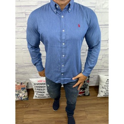 Camisa Social Jeans RL - CRLJN10 - Out in Store