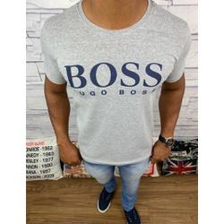 Camiseta Hugo Boss - Promoção - Cinza - CMA85 - RP IMPORTS