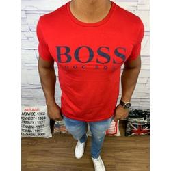 Camiseta Hugo Boss Promoção - Vermelha - CMT1 - RP IMPORTS