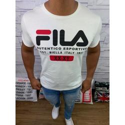 Camiseta Fila - Creme - Shopgrife