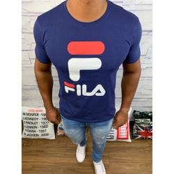 Camiseta Fila - Azul Marinho ⭐ - Shopgrife