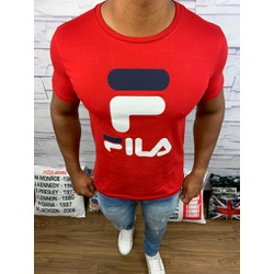 Camiseta Fila - Vermelha - Shopgrife