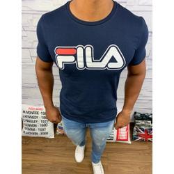 Camiseta Fila - Azul Marinho - Shopgrife