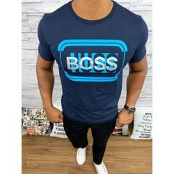 Camiseta Hugo Boss - Promoção - Azul Marinho - SWQ... - RP IMPORTS