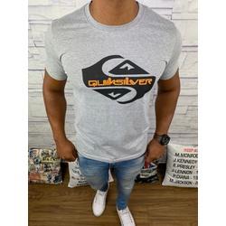 Camiseta QuikSilver - Cinza ⭐ - QS5 - Queiroz Distribuidora Multimarcas