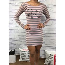 Vestido Calvin Klein - VCK09 - RP IMPORTS