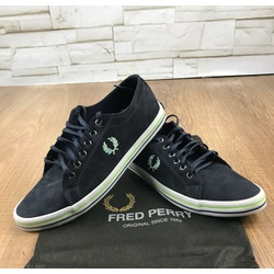 Sapatênis Fred Perry - Preto⭐ - CCD5 - RP IMPORTS