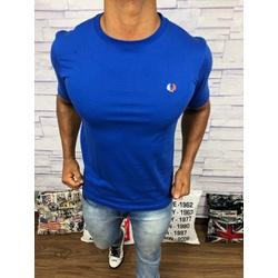 Camiseta Fred Perry - Azul ⭐ - DFGHJ3 - DROPA AQUI