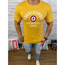 Camiseta Abercrombie Amarelo - CABR47 - RP IMPORTS