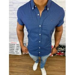 Camisa Manga Curta Tommy - Azul ⭐ - SDFX10 - RP IMPORTS