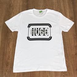Camiseta Hugo Boss Promoção - Branca - WEDF74 - RP IMPORTS