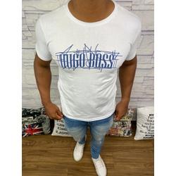 Camiseta Hugo Boss Promoção - Branca - FDXJ7 - RP IMPORTS
