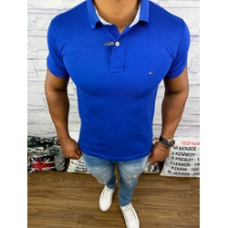 Polo Tommy - Azul Bic ⭐ - DFD77 - RP IMPORTS