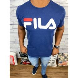 Camiseta Fila Azul Marinho - Shopgrife