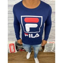 Blusa de Frio Fila - Moletinho Azul Marinho - CVF6 - Queiroz Distribuidora Multimarcas