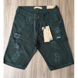 Bermuda Jeans JJ - Verde⭐ - EWDSD21 - Queiroz Distribuidora Multimarcas