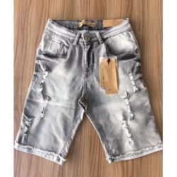 Bermuda Jeans JJ ⭐ - HGVM7 - Queiroz Distribuidora Multimarcas