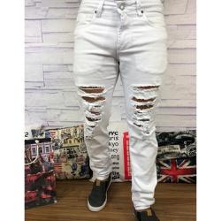 Calça Jeans JJ - Branca⭐ - SRD81 - Out in Store