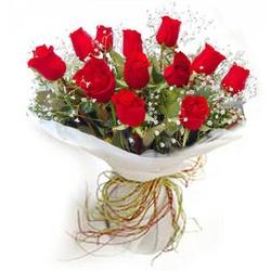 Buquê 12 Rosas Red - CAFECOMPAO