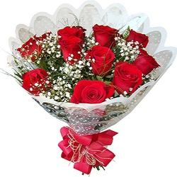 Buque 12 Rosas Importadas - CAFECOMPAO