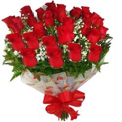 Buquê 24 Rosas Red - CAFECOMPAO