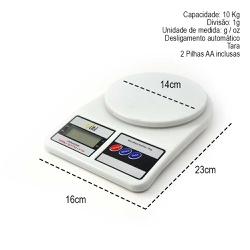 Balança Cozinha Digital 10 kg - BALANÇA DIGITAL IN... - Café Kawá