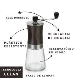 MOEDOR MANUAL DE CAFÉ EM GRÃOS - MOEDOR MANUAL DE... - Café Kawá