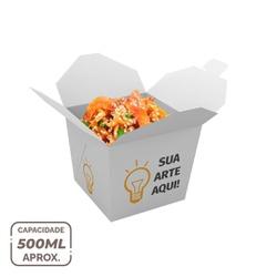 EMBALAGEM BOX ANTIVAZAMENTO YAKISOBA COMIDA JAPONESA 500ML PERSONALIZADO - 1000 UNIDADES - MIX0083PERS1000 - CaixaMix Embalagens