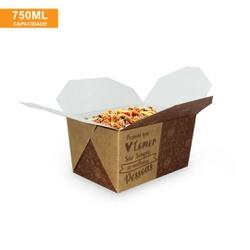 EMBALAGEM BOX ANTIVAZAMENTO 750ML KRAFT GOURMET- 50 UNIDADES - MIX0007KG - CaixaMix Embalagens