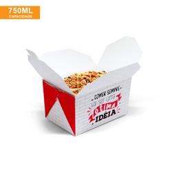 EMBALAGEM BOX ANTIVAZAMENTO 750ML RED GOURMET- 50 UNIDADES - MIX0007RG - CaixaMix Embalagens