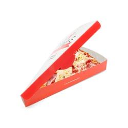 CAIXA FATIA PIZZA RED GOURMET - 50 UNIDADES - MIX0017RG - CaixaMix Embalagens
